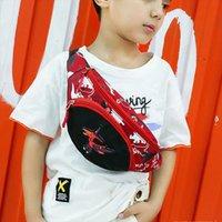 Детский пакет талии ремень для девочки милая мода Fanny сумка аниме деньги грудь сумка детский мальчик динозавр сумка малыш молнию Wasit VQDDW