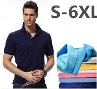 A3 Polo de crocodile de haute qualité Hommes Solid Coton Shorts Polo Summer Casual Polo Homme T-Shirts Mens Polos Chemises Poloshirt