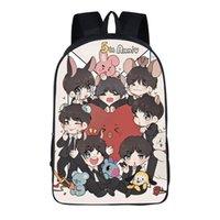 حقيبة الظهر TAS Meisjes الكورية حقيبة مدرسية Bangtan بنين محمول كتف طالب بولسا غير مبمولة Mochila Homo Escolar