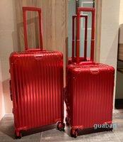 고품질 가방 PC 방지 착용 소재 TSA 세관 자물쇠 두꺼운 알루미늄 합금 luggages 코너 대용량 여행 케이스 공기 케이스