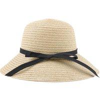 حافة واسعة القبعات الكورية المرأة تنفس سترو سترو قبعة قناع لفتاة طوي شاطئ شمس كاب دلو كبير