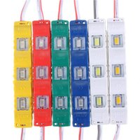 20pcs lot DC12V 5630 SMD 3 LED Module Injection Waterproof IP55 Decorative Hard Strip Bar Light Lamp White Red Green Yellow Blue Strips