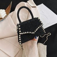Luxury Designer Messenger Bags for Lady Small Handbags Fashion Chain Bag Diamond Studded Female Casual Shoulder Crossbody Bag