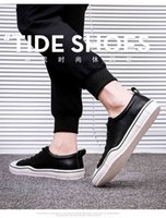 Dress Shoes 2021 Fashion Men Casual Lace-up Sneakers And Breathable Original Light Walking Big Size Comfortable S8B2