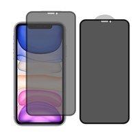 안티 스파이 개인 정보 보호 강화 유리 전화 화면 보호기 iPhone 13 12 미니 11 Pro XR XS Max 6 7 8 플러스 안티 - 엿보기 필름 벌크 판매