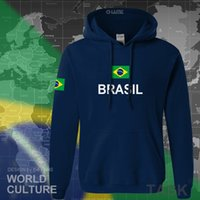 Designer Hoodie Brasilien Hoodie Männer Sweatshirt Sweat Streetwear Tops Trikots Kleidung Trainingsanzug Nation Brasilianische Flagge Brasilien Fleece BR