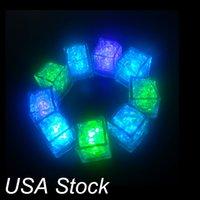 Altro LED Illuminazione LED di alta qualità Multi-colori flash flash Lamsh lampeggianti a flash a fuoco automatico per le barre di nozze di festa Stock USA