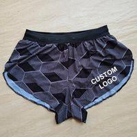 Men's Casual Shirts KENYA Man Marathon Shorts Long Distance Running Sport Pants Track Field Tights Customizable
