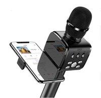 Microkpone Bluetooth Karaoke Microphone JR-MC3 المحمولة المحمولة ماكينة مكبرات الصوت اللاسلكية المحمولة ل iPhone Samsung PC All Smartphone