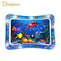 Inflable Play Play Mat Infant Water Spray Pad Nizz Actividad Playmat Center Pummy Gym Toys 210723