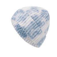 Winter Beanie Caps Men Women Loose Warm Pullover Hats Knitted Hat Couple Wool Street Hip Hop Skull Cap Multicolor