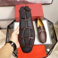 Luxus Männer Schuhe Hohe Qualität Leder Designer Männer Müßiggänger Schuhe Vintage Quaste Männer Slip On Outd Oxford Schuhe MOCASSIN HOMME Delocrd