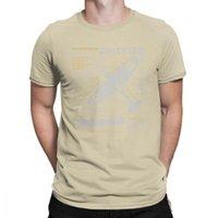 Мужские футболки Новинка SPITFIRE рубашка 100% хлопчатобумажные футболки боец самолет W2 War Pilot Fall Fall Ware Farty