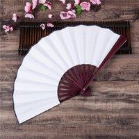 Bamboo Grande Ventilatore a mano pieghevole rave per uomo / donna - Giapponese cinese Tai Chi fanvolfanti per decorazioni performance Dan