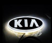2021 자동차 로고 배지 LED 라이트 4D 기아 (무료 배송)