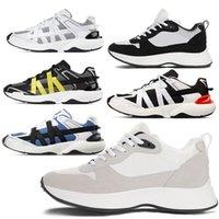 Brand 19SS Obliqui B24 B25 Sneaker 3M riflettente con cannage Motif Mens Fashion Designer Shoe Shoe Uomo Donna Sneakers Scarpe da donna