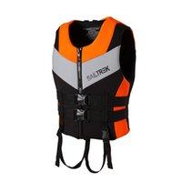 Hayat Yelek Şamandıra Neopren Ceket Çocuklar ve Yetişkin Yüzme Için Açık Rafting Şnorkel Giyim Balıkçılık Takım Elbise Kayak Bot
