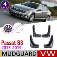 4 PCS For Volkswagen VW Passat B8 2015~2019 Car Mudflap Fender Mud Guard Flaps Splash Flap Mudguards Accessories 2016 2017 2018