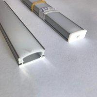 Bulbs LED Bar Light 5730 V Shape Corner Aluminum Profile With Curved Cover, Wall DC12V, Cabinet 6PCS Lot 50CM