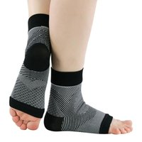 Pair Ankle Brace Compression Support Elastic Breathable ForR...