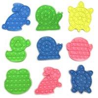 24 스타일 Go Bang Foxmind Push Pop Bubble Fidget Sensory 장난감 자폐증 특별 필요 스트레스 릴리버 장난감 재미있는 Antistress Fidget Toys