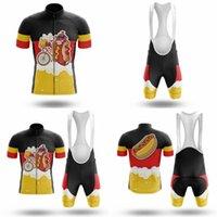 Marca Ciclismo Jersey Set 2020 5D Gel Pad Summer Manga corta Ropa de bicicleta Jersey Maillot Ciclismo Ropa de ciclismo transpirable