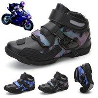 Calçados Calçados Motocicleta Sapatos Homens Four Seasons Off-Road Profissional Equitação Botas Senhoras Moda Trend Rua Runningshoe