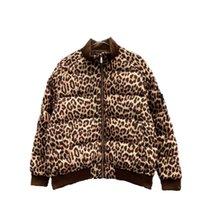 21ss Women's luxury designers Jackets Down Parkas paris letters Leopard Print clothes mens Coats Outerwear Clothing Lady Unisex Jacket For Man size M-2XL