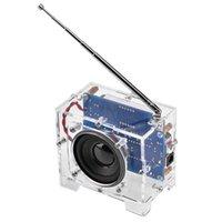 Radio fai da te Kit Produzione Electronic Digital Display Broadcasting Parts FM