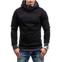 Slim Fit Mens Hoodies Hooded Jacket Male Zipper Coat Hip Hop Hoodies and Sweatshirts Hoody Sweatshirt Sportwear Tracksuit