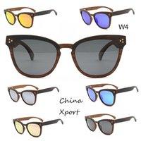 Legno unico verso il basso lungo telaio irregolare stile romanzo bello occhiali da sole occhiali da sole di alta qualità occhiali da sole a mano occhiali da sole unisex di 2021