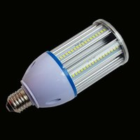 Bulbs 20pcs lot E27 E40 Base 2835SMD LED Corn Bulb Aluminum PCB Cooling Lamp Indoor No Flicker AC85V-265V 15W