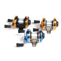 Baicasting Reels Linhu Rekupu Pêche Rouleau en métal Spinning Spinning Specuard Brin Vissen Accessoires Batterie de tambour