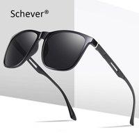 Sonnenbrille Schever Marke 2021 Mode Männer / Frauen Polarisierte UV400 Reisestil Outdoor Sports Fahren Sonnenbrille teuer