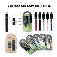 Vertex Preheat Battery 350mAh 650mAh 900mAh 1100mAh C*D VV Law Preheating 510 thread Batteries with USB Charger Kit Atomizers Oil Cartridges