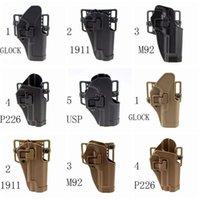 Holster à pull rapide Pistolet Sleeve pour P226 92F 1911 HK USP.45 G17-32 Engine d'ingénierie robuste Bonne dissimulation. 281 W2