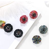 Crystal Handmade Flower Shape Miyuki Beads Earring Studs for...