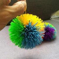 اللعب المضادة للضغط 8 سنتيمتر rainbow تململ الكرة الحسية الطفل مضحك بسط الإجهاد الإغاثة الاطفال التوحد خاص الاحتياجات الضغط لعبة