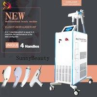 4in1 Beauty Equipment Ipl Laser Hair Removal Elight Opt Shr Nd Yag Lazer Tattoo Remova Machine