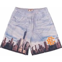 Fashion Ee Brand Eric Emanuel Short New York City Skyline Fitness Sweatpants Shorts Summer Gym Workout Breathable Casual Basketball Pants Y5fv