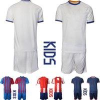 2021-2022 Euro Clubs Soccer Jersey Children Football Sport Set