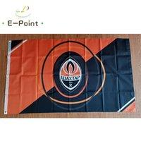 Ukraine FC Shakhtar Donetsk Flagge 3 * 5ft (90 cm * 150 cm) Polyester EPL-Flagge Banner Dekoration Fliegen Home Garten Flagge Festliche Geschenke