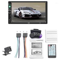 Inch Double Din Press Screen Car Stereo Upgrade The Latest Version Mp5 4 3 Player Fm Radio Video Support Backup Rear-View Came11