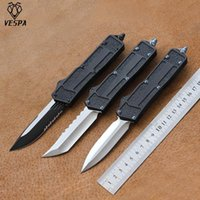 Vespa Jia Chong Cuchillo Hoja: M390 Mango: 7075Aluminum al aire libre EDC Hunt Tactical Herramienta Cena Cuchillo de cocina