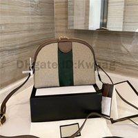 2021 Bayan En Kaliteli Totes Çanta Luxurys Tasarımcılar Omuz Çanta Zincirleri Çapraz Vücut Çanta Çizgili Çanta 5A Cüzdan Cep Telefonu Cep Mini Tote Çanta
