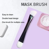 Makeup Brushes Double-headed Brush Mud Mixing Cosmetic Beauty Tool Liquid Foundation Facial Mask Portable Contour Face Care