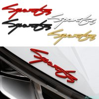 Car Sticker Styling Sport Emblem Decal Decoration For Toyota Corolla rav4 Yaris Yamaha R6 MT7 Skoda Octavia Honda Civic Accord