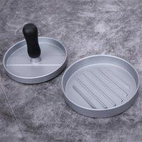 Hamburger Pressure Kitchen DIY Mold Aluminum Alloy Hamburg Pressing Machine Meat Maker With Plastic Handle MY-inf0346 34 V2
