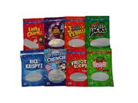 Leere infundierte Getreide essbare Verpackung 500 mg Verpackungsbeutel Karamell-Leckereien Kakao fruchtig Pebblez Cannaburst-Gummies Glück-Charmz-Tasche