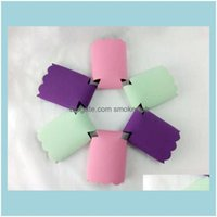 Ice Buckets And Coolers Barware Kitchen, Dining Bar Home & Gardenneoprene Solid Scalloped Cooler Pure Color Bottle Wrap Can Ers Wedding Gift